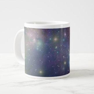 Espacio, estrellas, galaxias y nebulosas tazas jumbo