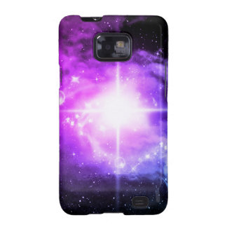 Espacio exterior púrpura galaxy SII carcasas