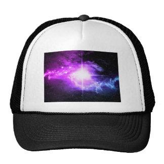 Espacio exterior púrpura gorro