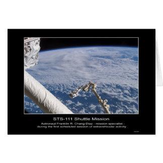 Espacio exterior STS-1 de Franklin R. Chang-Díaz d Tarjetón