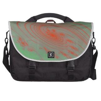 Espacio exterior verde bolsas de portátil