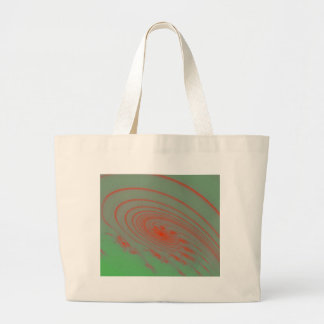 Espacio exterior verde bolsa de mano