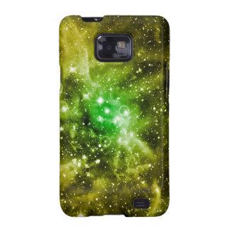 Espacio exterior verde galaxy SII funda