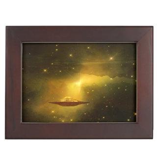 Espacio extranjero de las galaxias del UFO Cajas De Recuerdos