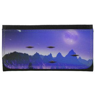 Espacio extranjero de las galaxias del UFO