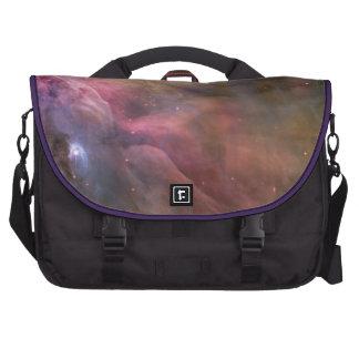 Espacio fresco de las estrellas de la nebulosa de  bolsas para ordenador