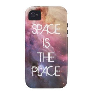 Espacio fresco de las estrellas de la nebulosa de  iPhone 4/4S fundas