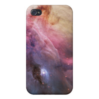 Espacio fresco de las estrellas de la nebulosa de  iPhone 4 fundas