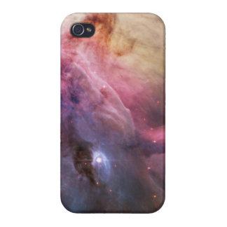 Espacio fresco de las estrellas de la nebulosa de  iPhone 4 protector