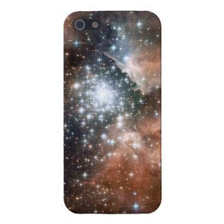 Espacio fresco de las estrellas de la nebulosa de  iPhone 5 funda