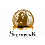 Espacio galón del steampunk del Victorian Postales