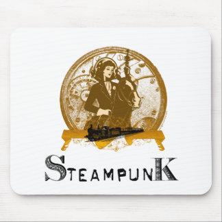 Espacio galón del steampunk del Victorian Alfombrillas De Ratón