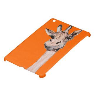 """""""Espació-Hacia fuera caso del iPad de la jirafa"""" m iPad Mini Carcasas"""