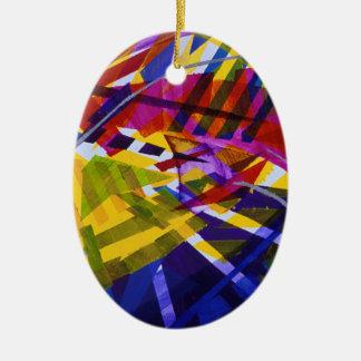 Espacio interno - corrientes abstractas del arco ornamento para reyes magos