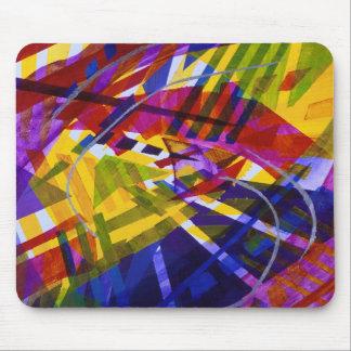 Espacio interno - corrientes abstractas del arco i alfombrillas de ratones