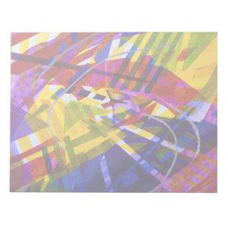 Espacio interno - corrientes abstractas del arco libretas para notas