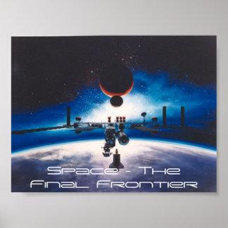 Espacio - la frontera final póster