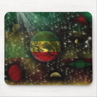 Espacio Mousepad del mundo de los planetas de Rast Alfombrilla De Raton