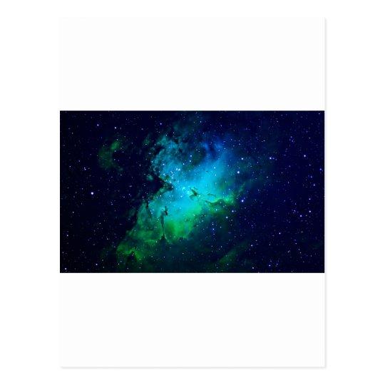 Espacio - nebulosa m16 postal