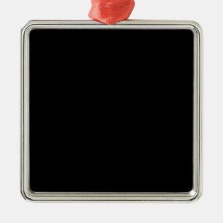 Espacio negro del fondo del negro azabache del lla ornamento de navidad