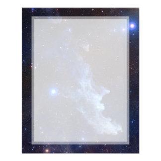 Espacio principal de la NASA de la nebulosa de la Tarjetón
