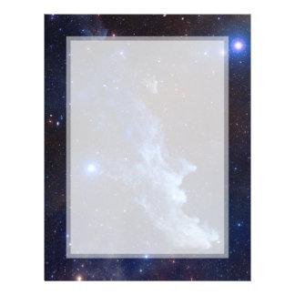 Espacio principal de la NASA de la nebulosa de la Flyer Personalizado
