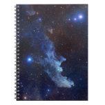 Espacio principal de la NASA de la nebulosa de la  Libretas