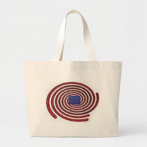 Espacio privado bolsa tela grande