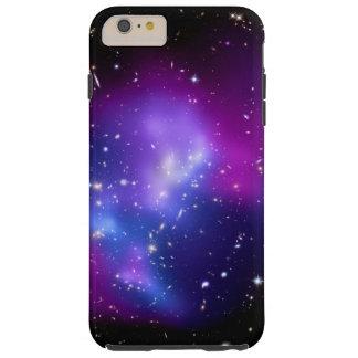 Espacio púrpura de los MAC J0717 del racimo de la Funda De iPhone 6 Plus Tough