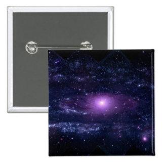 Espacio púrpura ultravioleta de la galaxia del And Pin Cuadrado