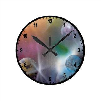 Espacio Reloj Redondo Mediano