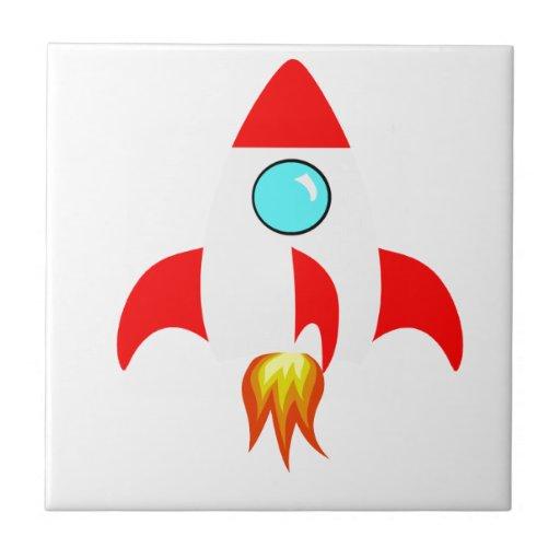 Espacio Rocket Azulejo