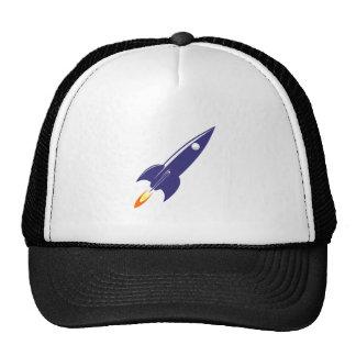 Espacio Rocket del dibujo animado Gorros Bordados