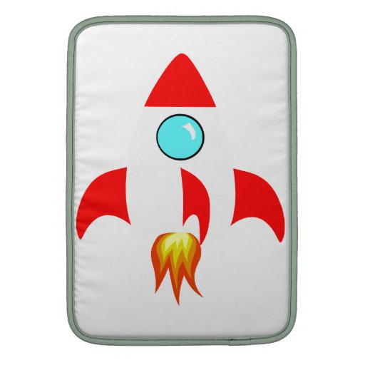 Espacio Rocket Funda MacBook