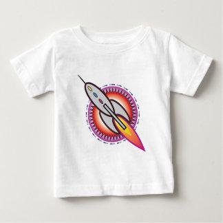 Espacio Rocket Playera Para Bebé