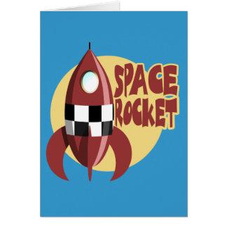 Espacio Rocket Felicitación