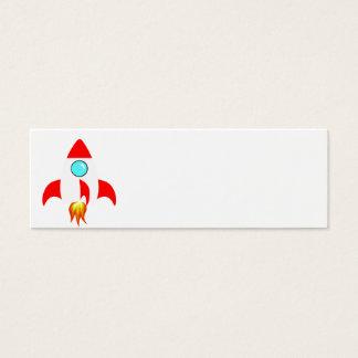 Espacio Rocket Tarjetas De Visita Mini