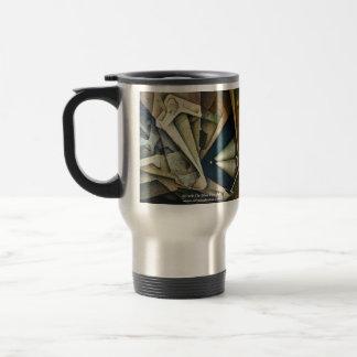 Espacio sideral tazas de café