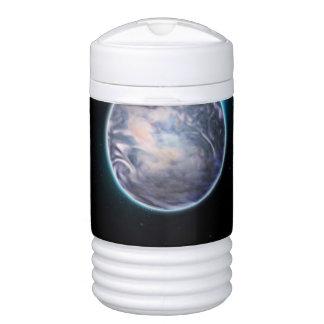 Espacio temático refrigerador de bebida igloo