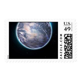 Espacio temático sello postal