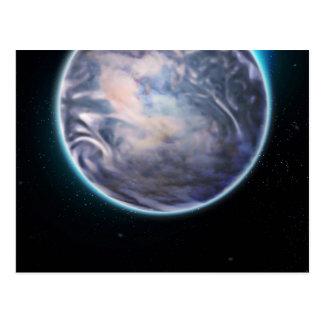 Espacio temático tarjeta postal