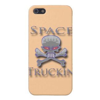 Espacio Truckin azul iPhone 5 Coberturas
