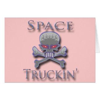 Espacio Truckin azul Tarjetas