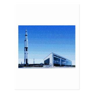 Espacio y centro de Rocket de Huntsville, Alabama Tarjeta Postal
