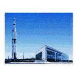 Espacio y centro de Rocket de Huntsville, Alabama Tarjetas Postales