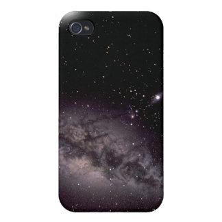 Espacio y la vía láctea iPhone 4 fundas