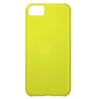 Espacios en blanco de oro amarillos de la sombra d funda para iPhone 5C