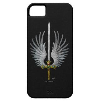 Espada coa alas iPhone 5 fundas