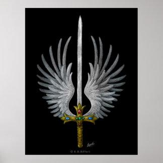 Espada coa alas posters