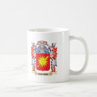 Espada Coat of Arms - Family Crest Coffee Mug